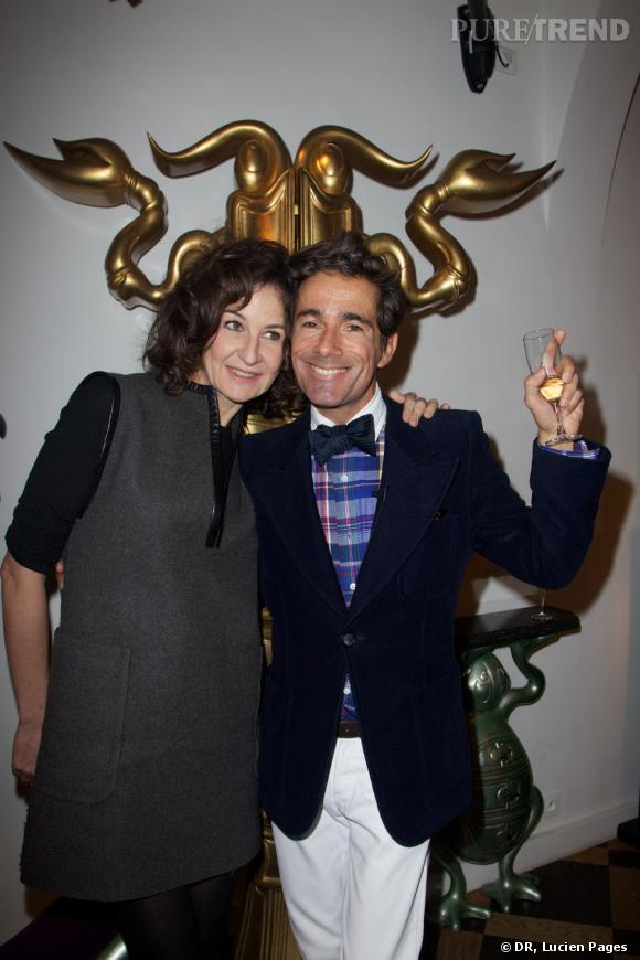 Valerie Lemercier et Vincent Darré à la Maison Darré.