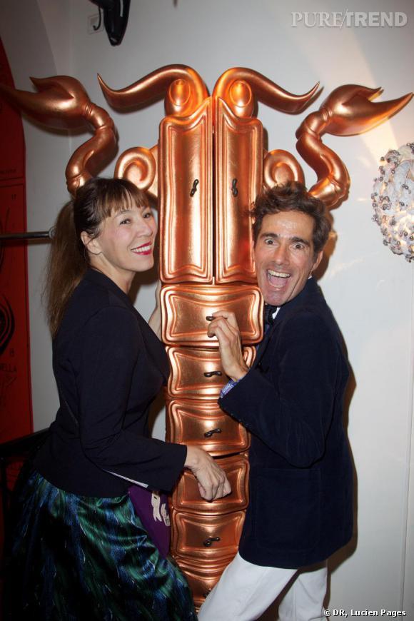 Victoire de Castellane et Vincent Darré à la Maison Darré.