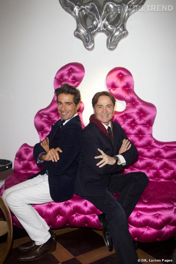 Vincent Darré et Marcial Berro à la Maison Darré.