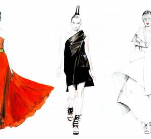La Fashion Week illustrée : le top Karlie Kloss