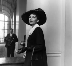Dans le vanity de Maria Callas