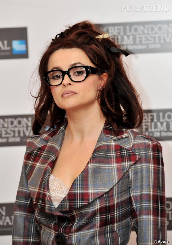 "Helena Bonham Carter au photocall de son nouveau film ""The King's Speech"" à Londres."