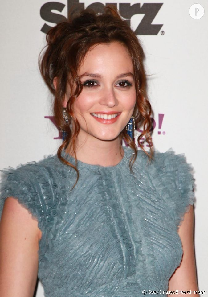 Leighton Meester au Hollywood Awards Gala à Beverly Hills....