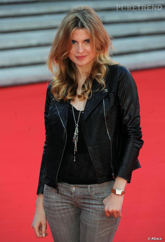 Cécile Cassel à la projection de Leila au Festival du Film de Rome.
