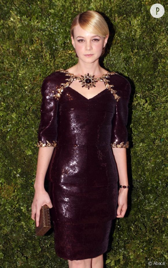 Carey Mulligan aux CFDA/Vogue Fashion Fund Awards à New York.