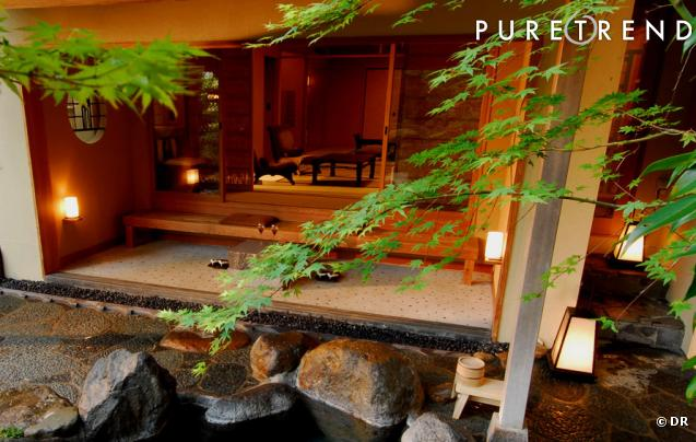 Kyoto ryokan (auberge traditionnelle japonaise) Motonago accueil
