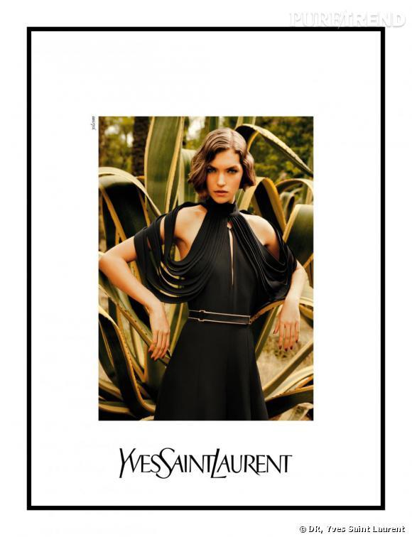 Campagne Yves Saint Laurent Printemps-Eté 2011.