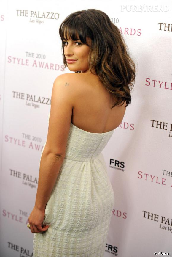 Lea Michele aux Hollywood Style Awards à Los Angeles.
