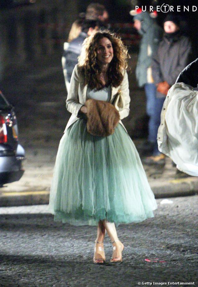 Carrie bradshaw tutu jupe