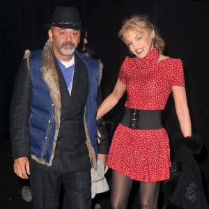 Christian Louboutin et Arielle Dombasle.