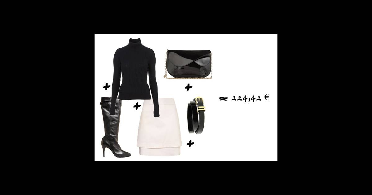 Un look minimaliste petit prix for Look minimaliste