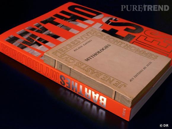 Ancienne contre nouvelle parution : la réédition des Mythologies de Roland Barthes. Roland Barthes, Mythologies, 1957, 2011, 252pp., 200 illustrations, 39€.