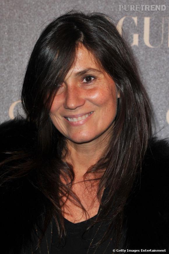 Emmanuelle Alt, rédactrice en chef du Vogue Paris.