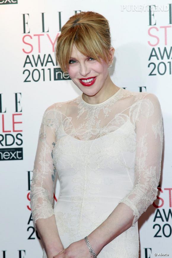 Courtney Love aux ELLE Style Awards 2011, à Londres.
