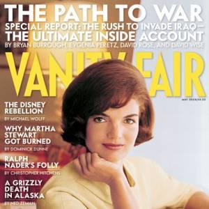 Une couverture rétro avec Jackie O en mai 2004.