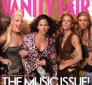 Vanity Fair joue la carte du girl power avec le numéro de novembre 2002 avec Gwen Stefani, Jennifer Lopez, Sheryl Crow et Alicia Keys.
