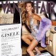 """Le numéro """"Style"""" de septembre 2007 met à l'honneur le Brésil et nous offre une Gisèle Bundchen très bling bling."""
