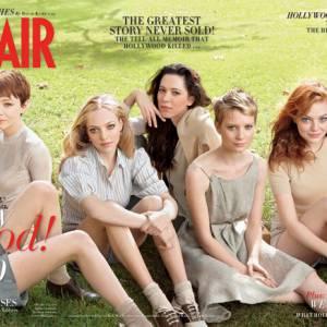 "Numéro spécial ""New Hollywood"" en mars 2010 avec Abbie Cornish, Kirsten Stewart, Carey Mulligan, Amanda Seyfried, Amanda Seyfried, Rebecca Hall, Mia Wasikowska, Evan Rachel Wood et Anna Kendrick."