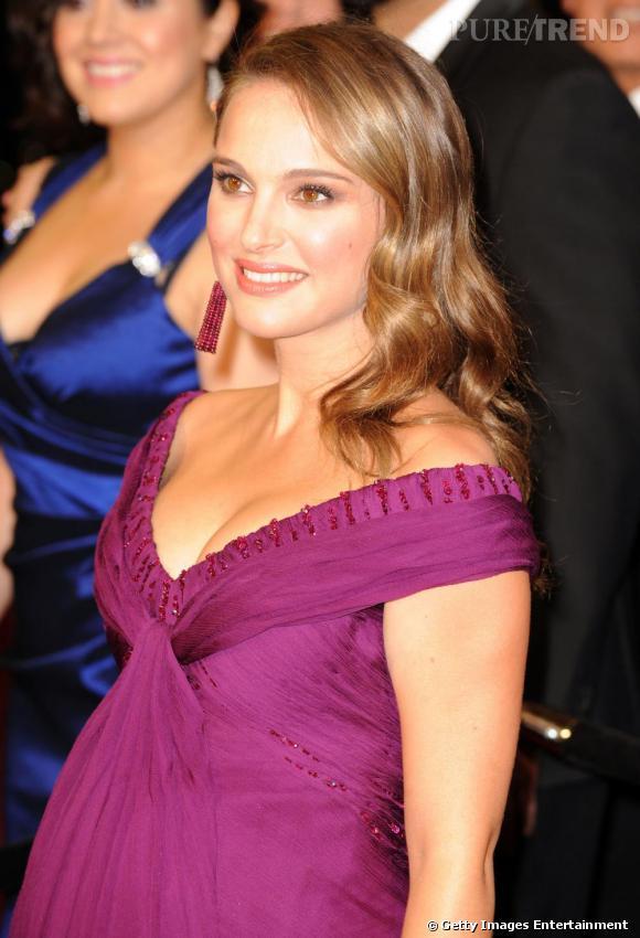 Natalie Portman à la cérémonie des Oscars, à Los Angeles.