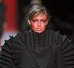Lindsey Wixson, allergique au make-up?