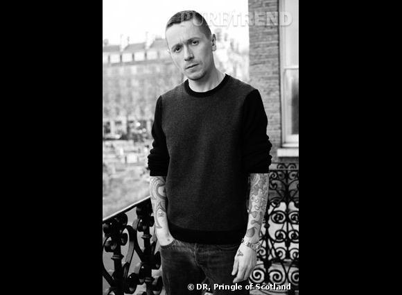 Alistair Carr, nouveau directeur artistique de Pringle of Scotland.