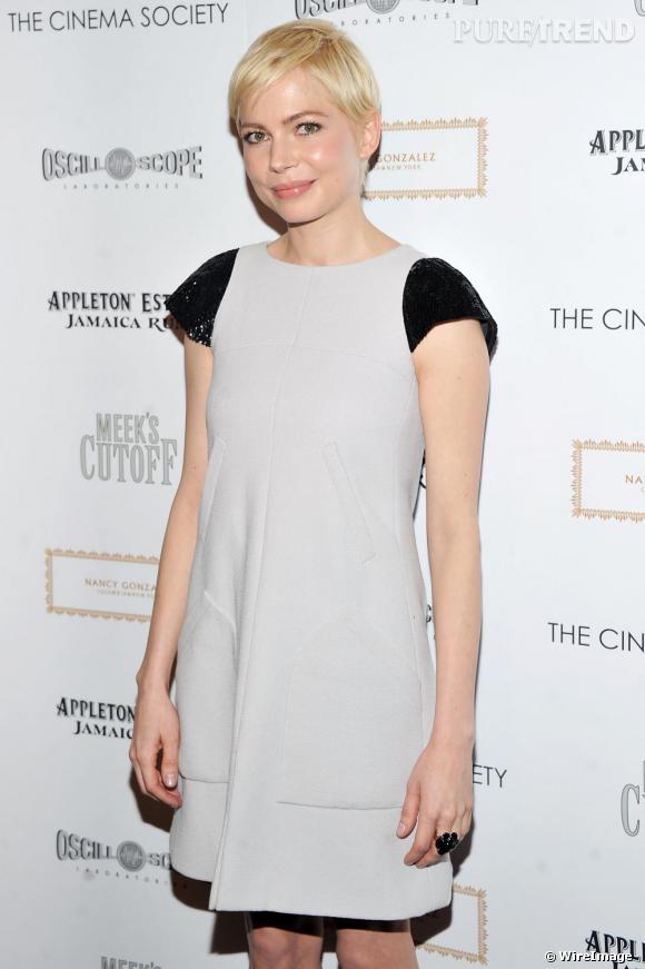 "Michelle Williams à la première du film ""Meek's Cutoff"", à New York."