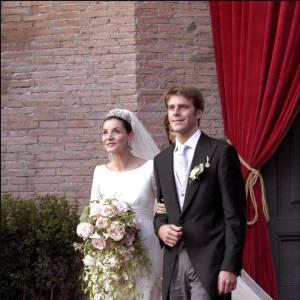 Clotilde Courau et Emmanuel Philibert de Savoy s'épousent en septembre 2009.