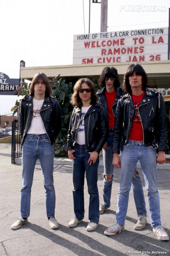 Perfectos et jeans troués, Joey, Johnny, Dee Dee Ramones, les punks made in New York.