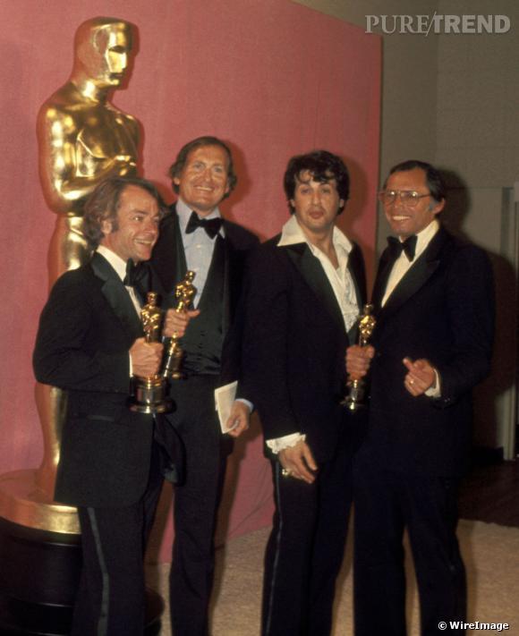 """Côté ciné, en 1976, le film """"Rocky"""" lance la carrière de Sylvester Stallone."""