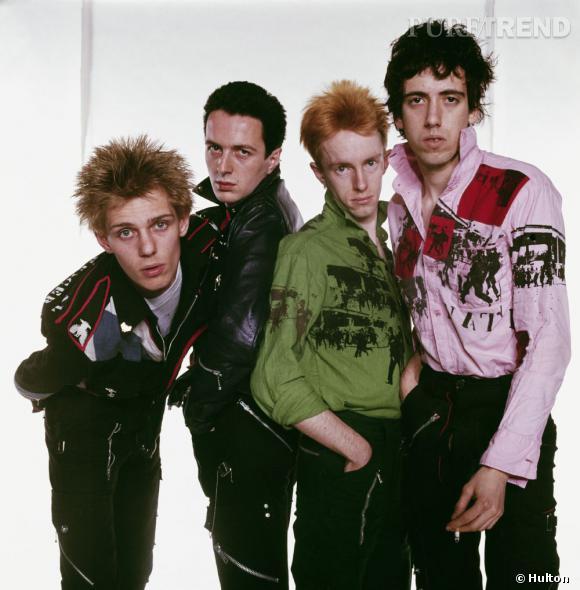 """Les Clash, comme les Sex Pistols représentent le style punk anglais, on leur doit notamment le tube """"London Calling""""."""