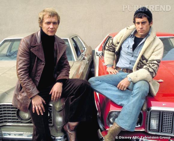 Duo aujourd'hui délicieusement kitsch des 70's, Starsky et Hutch.