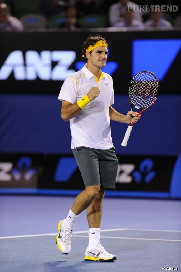 Le style des joueurs de tennis  Roger Federer 8bea2756eb6