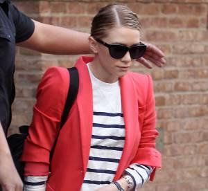 Ashley Olsen, rouge de plaisir