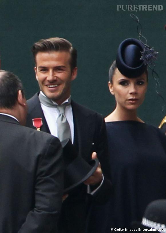 Les Beckham sur leur 31 pour le mariage royal.