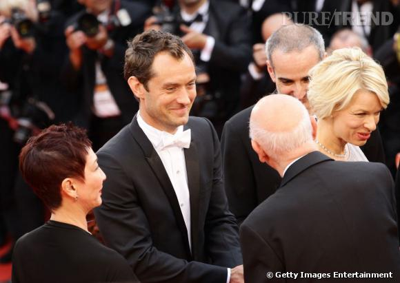 Cannes 2011 : Jude Law, membre du jury, élégant gentleman.