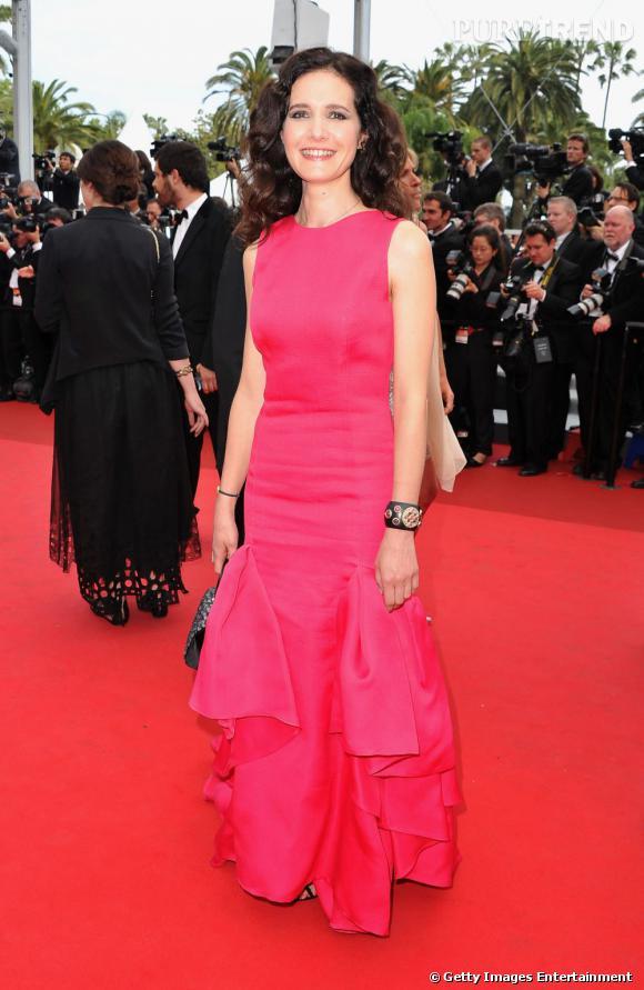 Cannes 2011 : Chloé Lambert voit la vie en rose.