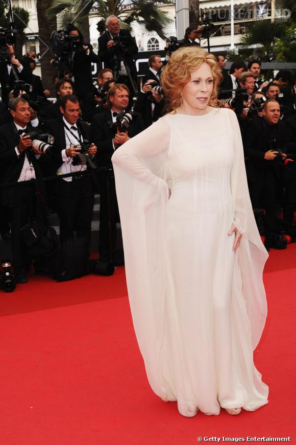 Cannes 2011 : Faye Dunaway, blanche colombe ?