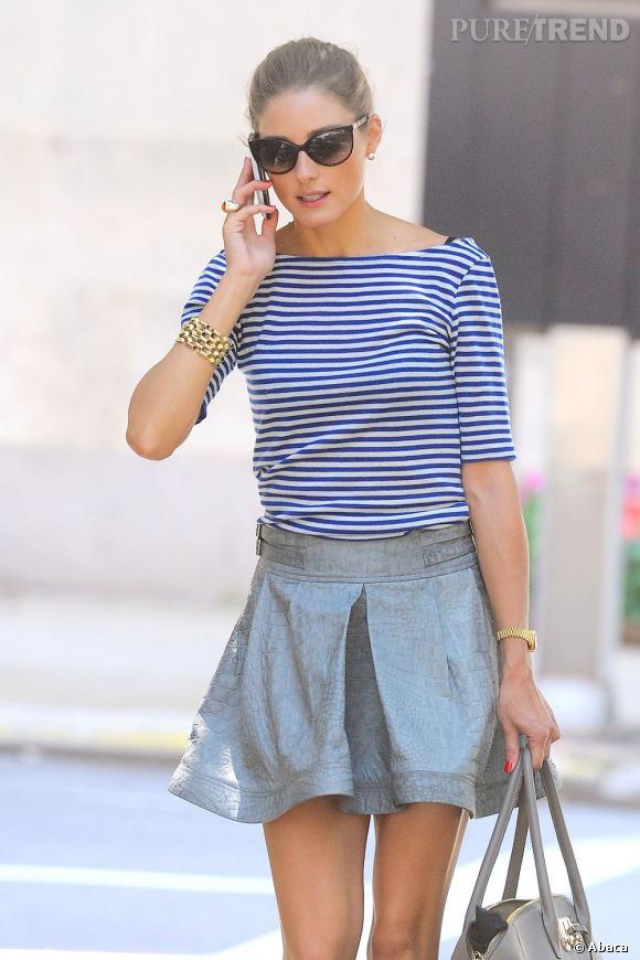 da95c015c94 Olivia Palermo dans les rues de New York.