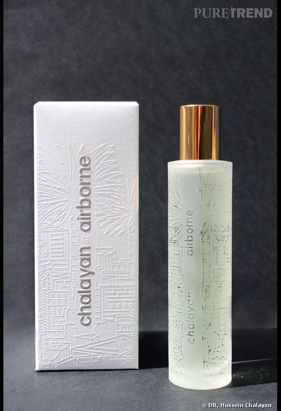 """""""Airborne"""", le nouveau parfum d'Hussein Chalayan en collaboration avec Comme des Garçons."""