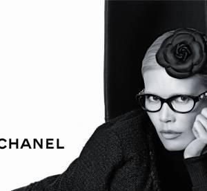 Claudia Schiffer égérie Chanel Eyewear