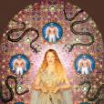 Pierre et Gilles    La Vierge aux serpents (Kylie Minogue) , 2008   Painted photograph, framed by the artists