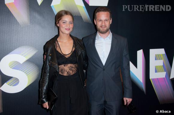 """Marie-Ange Casta au Festival Paris Cinéma pour la projection de """"Polisse""""."""