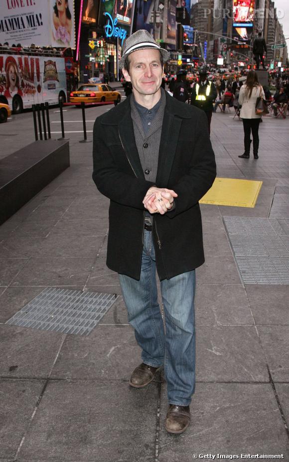 A Times Square, Denis est plus proche du touriste que de son personnage, Russell Edgington.