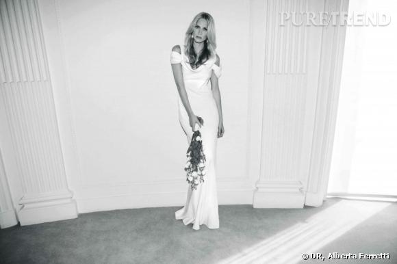 Collection de robes de mariée Forever d'Alberta Ferretti.   Michelle.