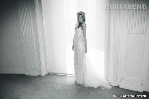 Collection de robes de mariée Forever d'Alberta Ferretti.   Audrey