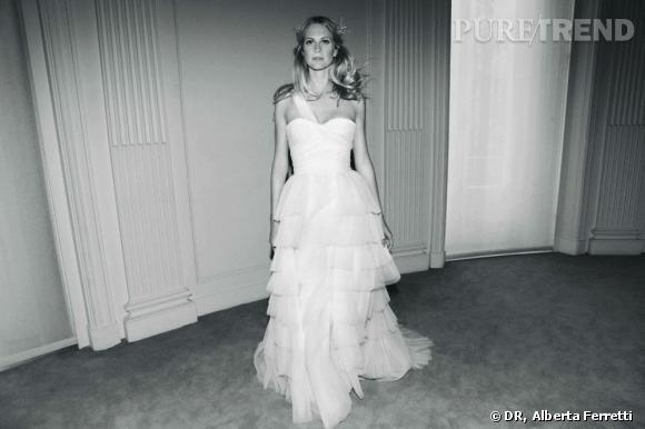 Collection de robes de mariée Forever d'Alberta Ferretti.   Claudia