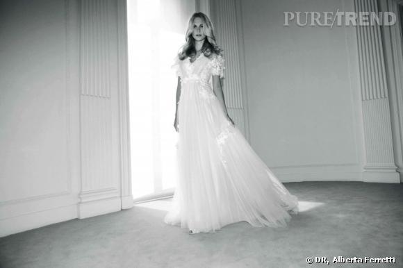 Collection de robes de mariée Forever d'Alberta Ferretti.   Liz
