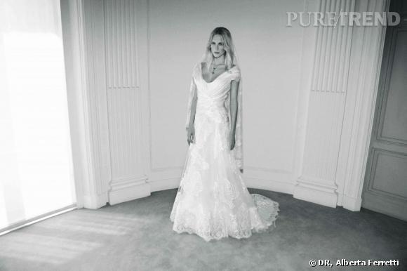 Collection de robes de mariée Forever d'Alberta Ferretti.   Penelope
