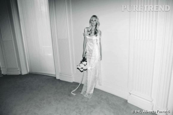 Collection de robes de mariée Forever d'Alberta Ferretti.   Greta