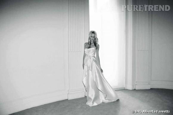 Collection de robes de mariée Forever d'Alberta Ferretti.   Marilyn